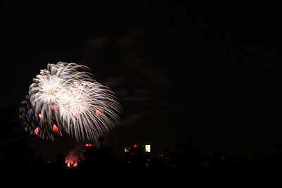 Boston fireworks July 4, 2010