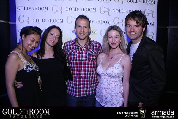 Gold Room Saturdays - 06.02.2012
