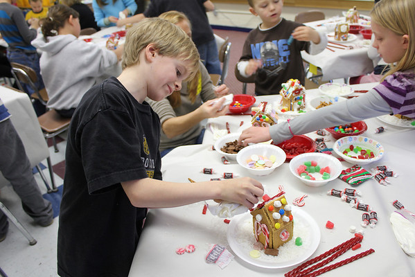 Gingerbread House Raising