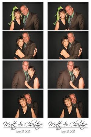Matt & Christine July 27, 2015