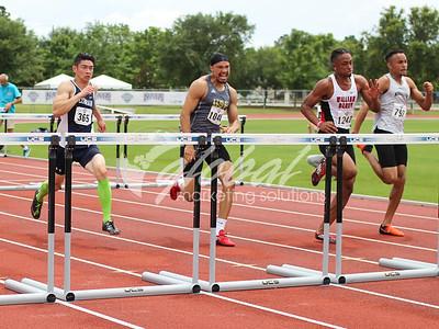 Men's 100m Hurdles -Trials