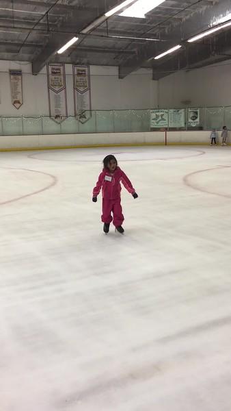 ice skating - kiwi