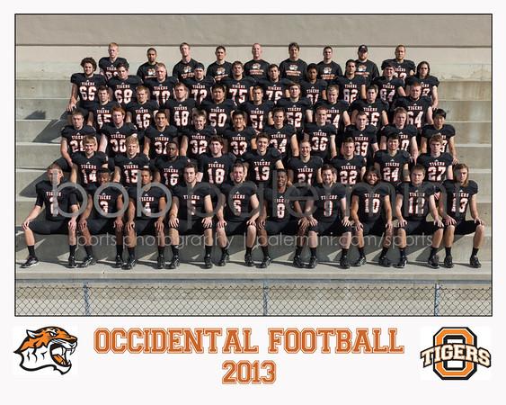 Oxy 2013 Football Team Photos