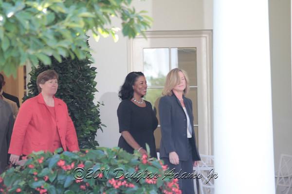 White House Visit by Seattle Storm WNBA