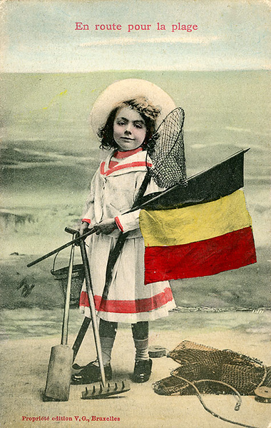 Beach holidays in Belgium before 1914