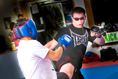 Dragon Kim's Sparring