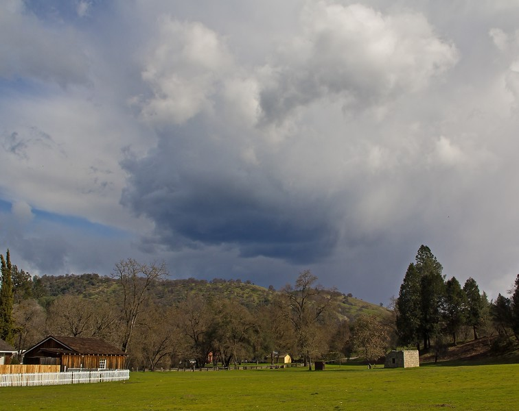 Clouds over Coloma