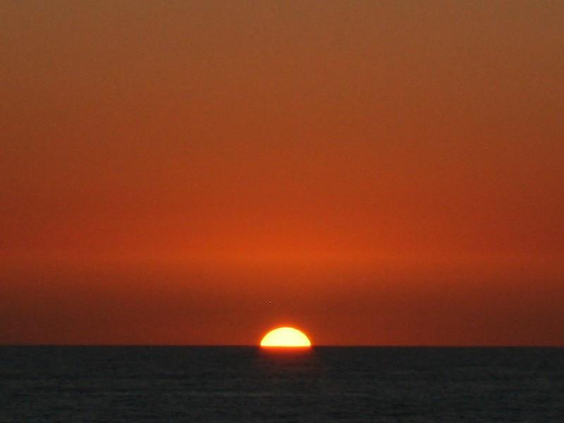 Sunset at Moonlight Beach - Encintas, CA
