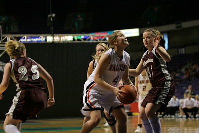 2007 State 2B Girls - Napavine over Reardan