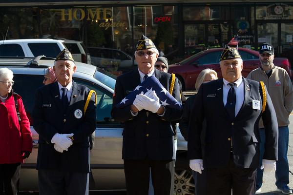 2015 Goshen Veteran's Day
