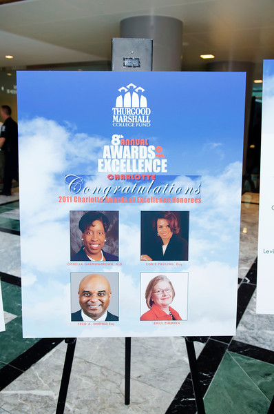 8th Annual Awards of Excellence Thurgood Marshall  @ Founders Hall Charlotte 2011 by Jon Strayhorn