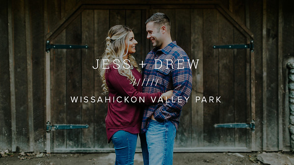 JESS + DREW ////// WISSAHICKON VALLEY PARK