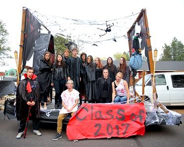 Outlaws HomeComing Parade 2015 10-22-15