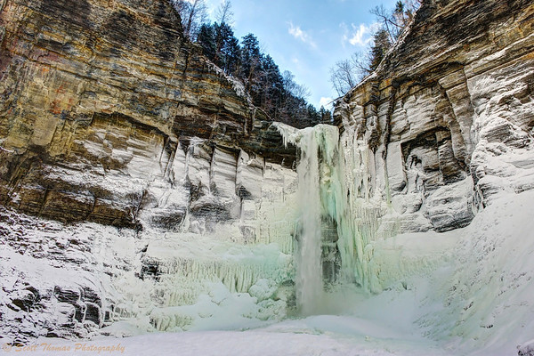 Taughannock Falls, the Great Fall in the Woods