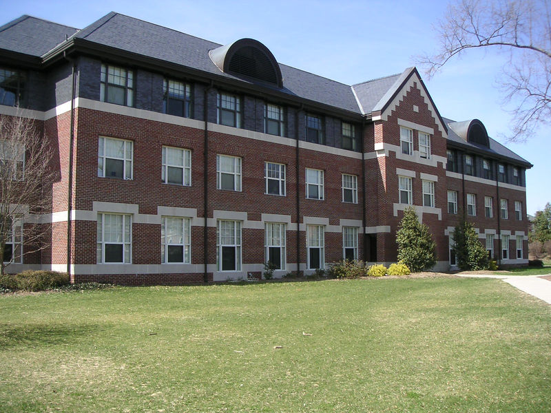 Blackwell Dorm on East Campus