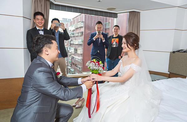 Mr.Lu + Miss.Chen-台北晶華酒店