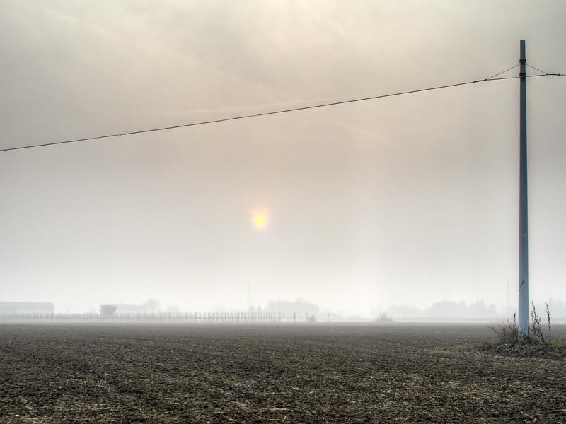 Sunset - Fellegara, Scandiano, Reggio Emilia, Italy - December 4, 2011