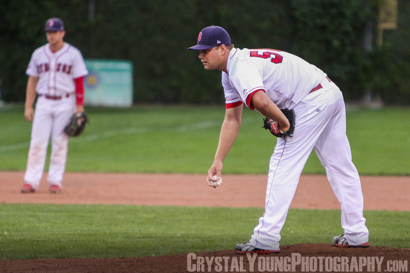 Guelph Royals at Brantford Red Sox IBL Playoffs, Round 1 Game 1 August 8, 2013