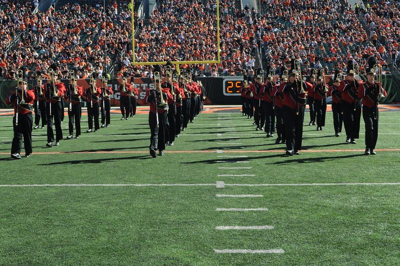 UC Band_Bengals vs Ravens_Halftime Show_PBS_Cincinnati, OH