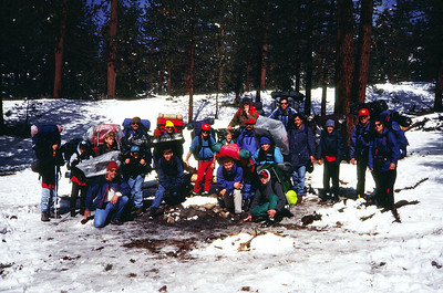 May 1994 - Mt. Pinos Hike Part I