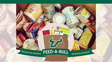 Keep the Feed-A-Bull Food Pantry Stocked!
