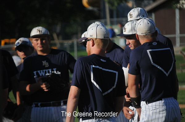 District Baseball vs Grundy Center