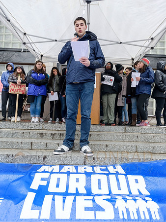 March For Our Lives in Bellingham, Wash