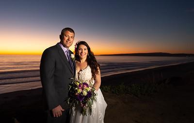 La Selva Beach Intimate Backyard Wedding - Lynsey & Jeff
