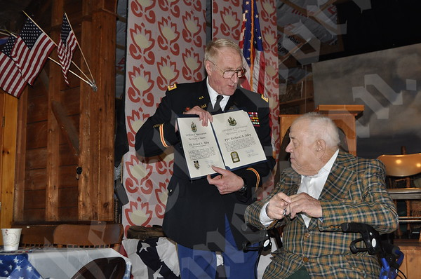 Veteran honored with awards