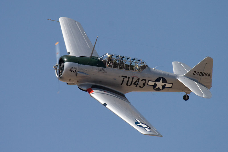 Tuskegee Airmen AT-6: only one still flying