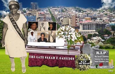 Wake Keeping - Mrs Sarah F. Gabbidon 12/14/18 Providence RI