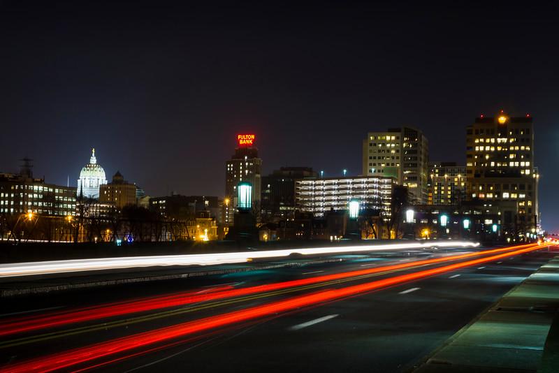 Harrisburg - market street bridge lighttrails(p).jpg