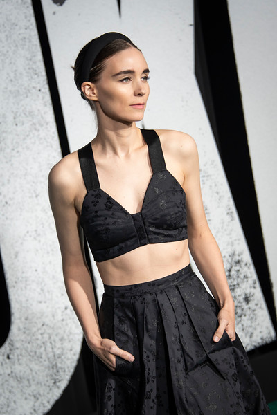 """HOLLYWOOD, CALIFORNIA - SEPTEMBER 28: Rooney Mara attends the premiere of Warner Bros Pictures """"Joker"""" on Saturday, September 28, 2019 in Hollywood, California. (Photo by Tom Sorensen/Moovieboy Pictures)"""