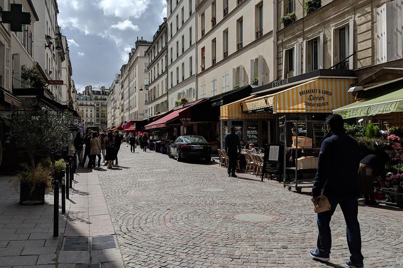 Market on Rue Cler