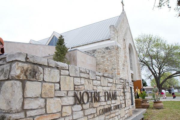 Notre Dame Historical Marker