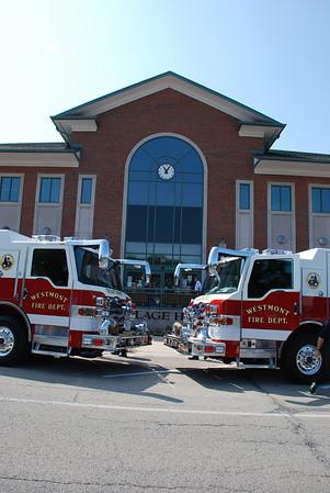 2009-08-11 New Firetrucks