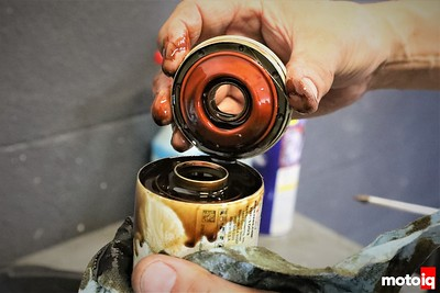 Check Inside Your Oil Filter