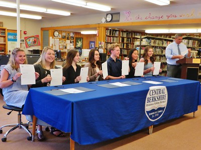 Wahconah Teacher Signing Day