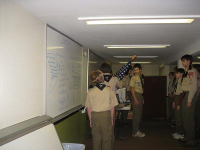 Troop Meeting - Nov 10