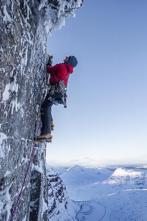 Heavy Flak, First Winter Ascent