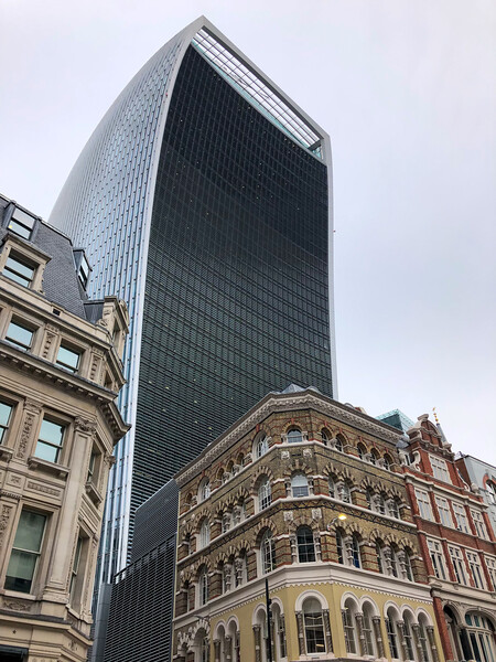 Walkie Talkie building in London
