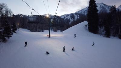 2018-12-29 Skiing with Step & Sean - Sundance