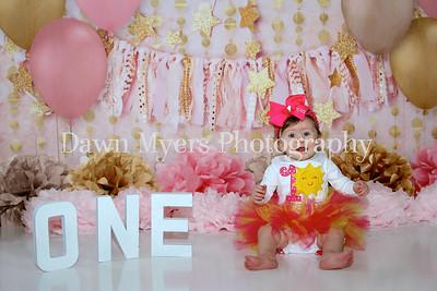 Braylee~1st Birthday