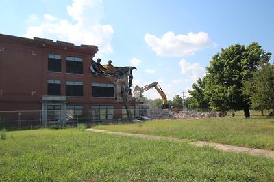 Demolitiion starting July 7, 2020