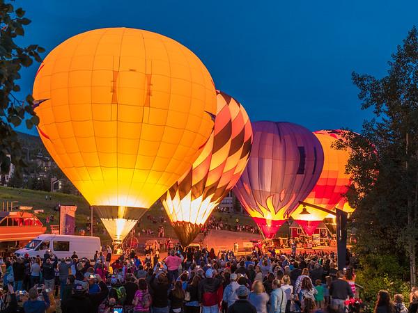 Steamboat Springs Balloon Festival, Summer 2015