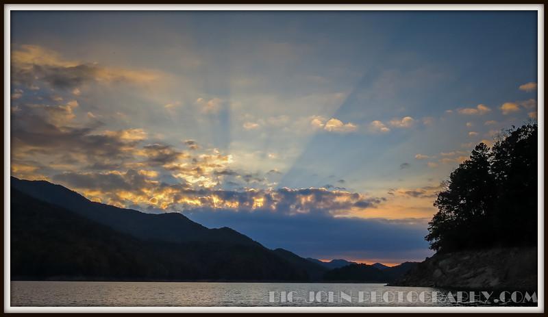 GSMNP Lake Fontana 10-25-14
