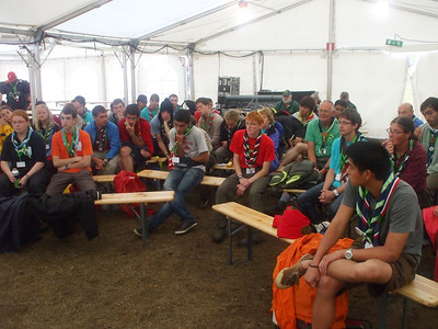 7/24/2011~8/8/2011 - World Scout Jamboree in Sweden