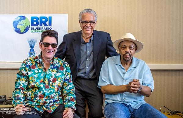 John Primer Bob Corritore 5 11 17 BMA Awards BRI Studio 15
