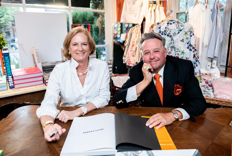 Book signing for Washington Life Magazine