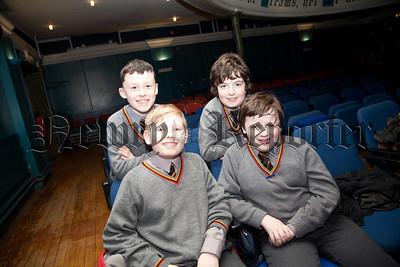 Adam McParland, Adam Clarke, Cameron Hedderman and Kyle Byrne from Abbey PS Newry. R1404011